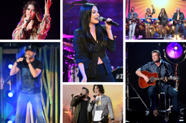 Maren Morris, Cole Swindell, Kacey Musgraves, Dan + Shay, Little Big Town, and Blake Shelton are all up for the Best Country Song GRAMMY Award at the 61st Annual GRAMMY Awards on February 10, 2019.
