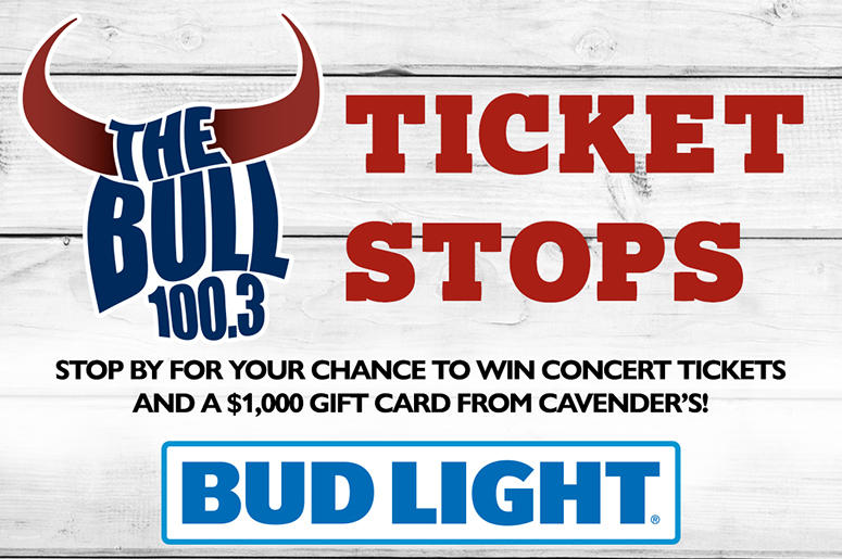 Win Concert Tickets and a gift card from cavender's