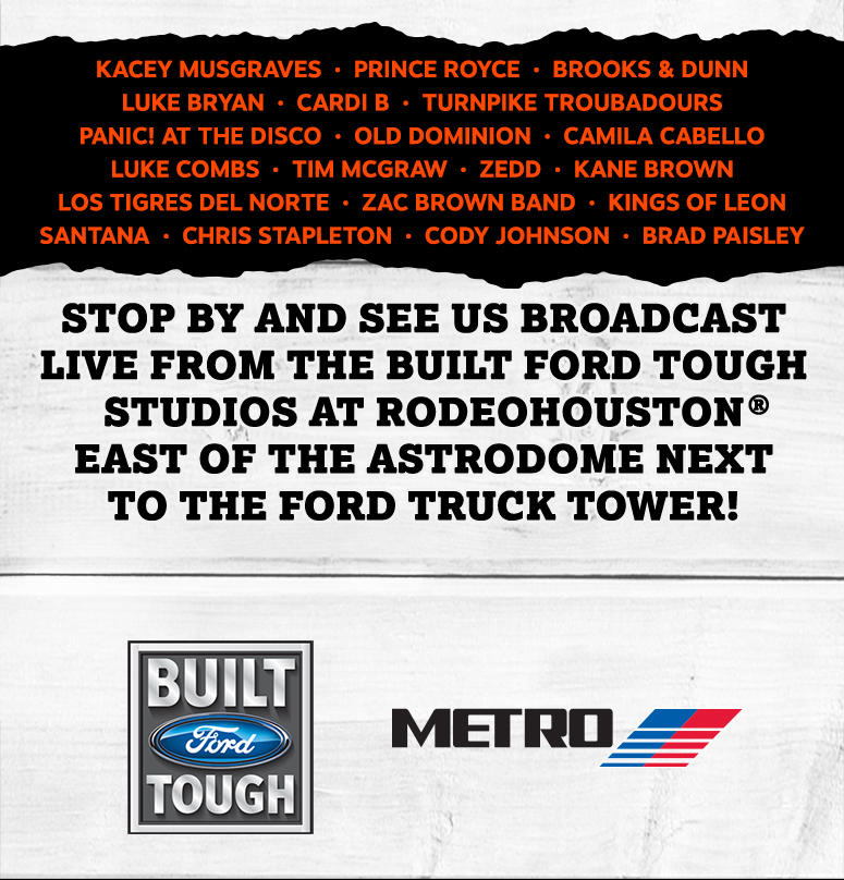 Come see The Bull's team at RODEO HOUSTON