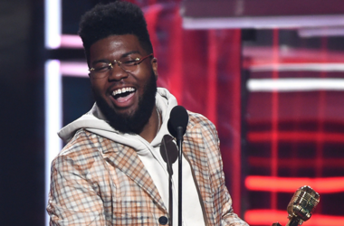 Khalid accepts the Top New Artist award at the 2018 Billboard Music Awards