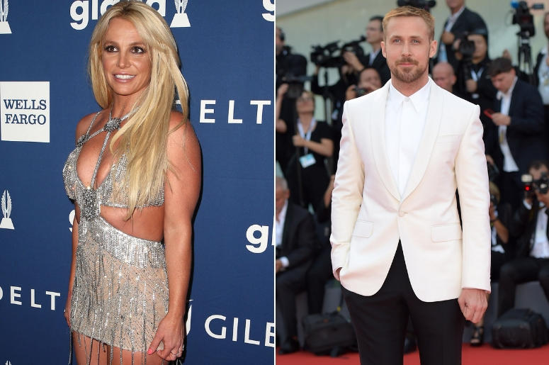 Britney Spears And Ryan Gosling