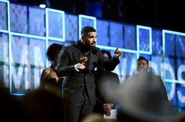 Drake accepts Best Rap Song for 'God's Plan' onstage during the 61st Annual GRAMMY Awards