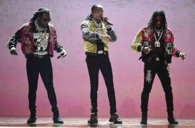 Migos perform on the 2018 BET Awards