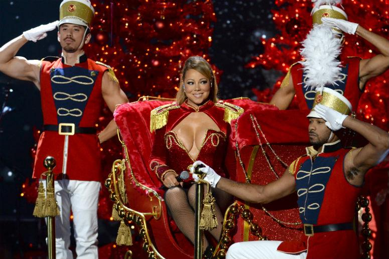 Mariah All I Want For Christmas.Mariah Carey S All I Want For Christmas Is You Reaches Top 10 For