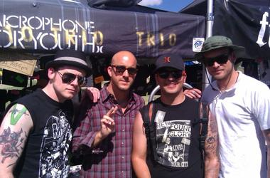 Danny and Alkaline Trio