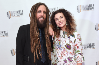 """Brian Welch of the band Korn and daughter Jennea Welch attend the screening of """"Loud Krazy Love"""" at the Regal 27 Hollywood Theater on May 11, 2018 in Nashville, Tennessee"""
