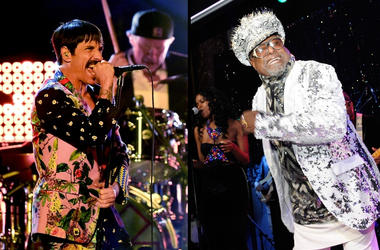 Red Hot Chili Peppers x George Clinton