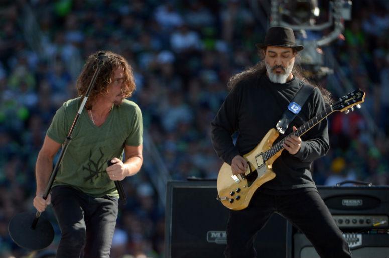 Chris Cornell with Soundgarden