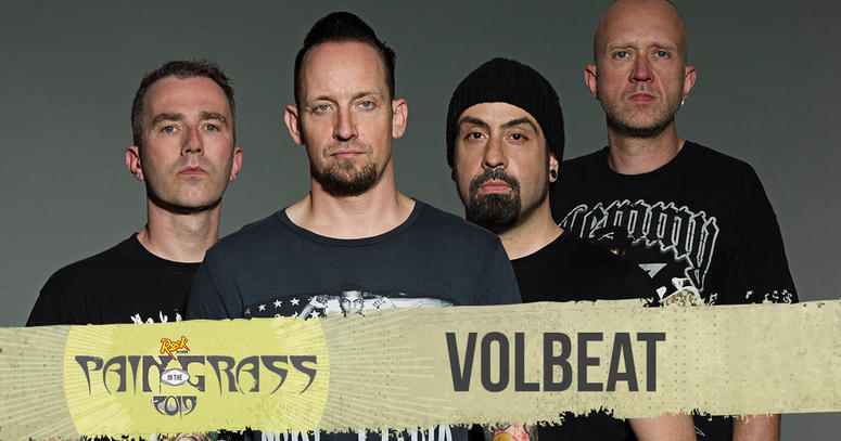 Volbeat plays Pain in the Grass 2019