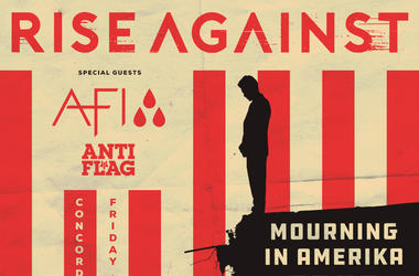 Rise Against with AFI and Anti-Flag