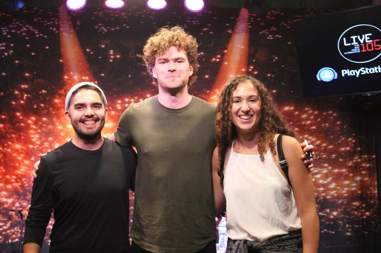 Vance Joy Meet-N-Greet In The PlayStation Music Space