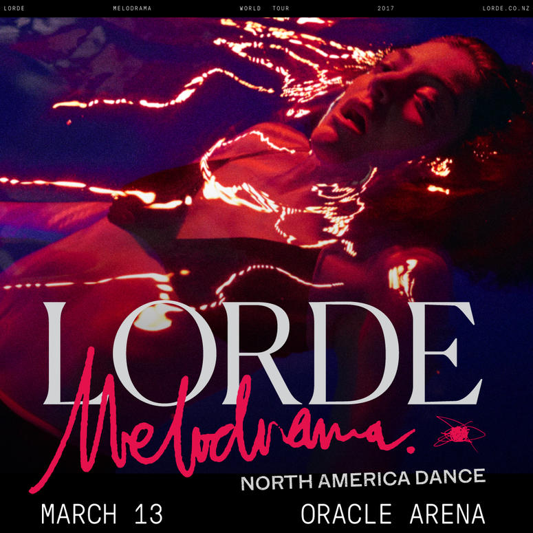 Lorde at Oracle Arena