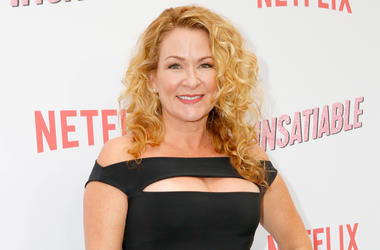 """LOS ANGELES, CA - AUGUST 09: Sarah Colonna attends Netflix's """"Insatiable"""" Premiere And After Party on August 9, 2018 in Los Angeles, California. (Photo by Rachel Murray/Getty Images for Netflix)"""