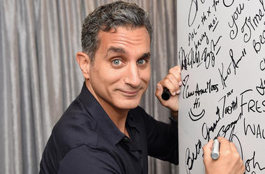 """NEW YORK, NY - JULY 06: Bassem Youssef attends the AOL Build Speaker Series - Bassem Youssef, """"The Democracy Handbook with Bassem Youssef"""" at AOL Studios In New York on July 6, 2016 in New York City. (Photo by Jamie McCarthy/Getty Images)"""