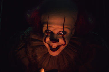 "This image released by Warner Bros. Pictures shows Bill Skarsgard as Pennywise in New Line Cinema's horror thriller ""It: Chapter 2."" (Warner Bros. Pictures via AP)"