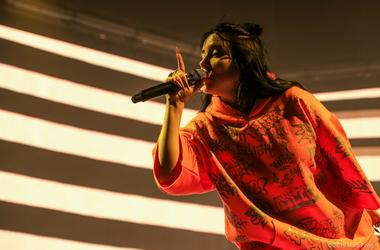 Billie Eilish at Bill Graham Civic Auditorium