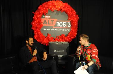 Young The Giant Backstage At NSSN 2018