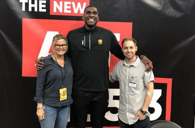 Kevon Looney with DK and Dallas