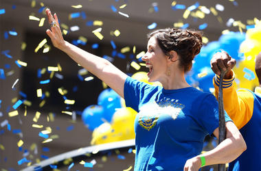 Oakland Mayor Libby Schaaf (Photo credit: Kelley L Cox-USA TODAY Sports)