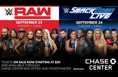 WWE Smackdown at Chase Center