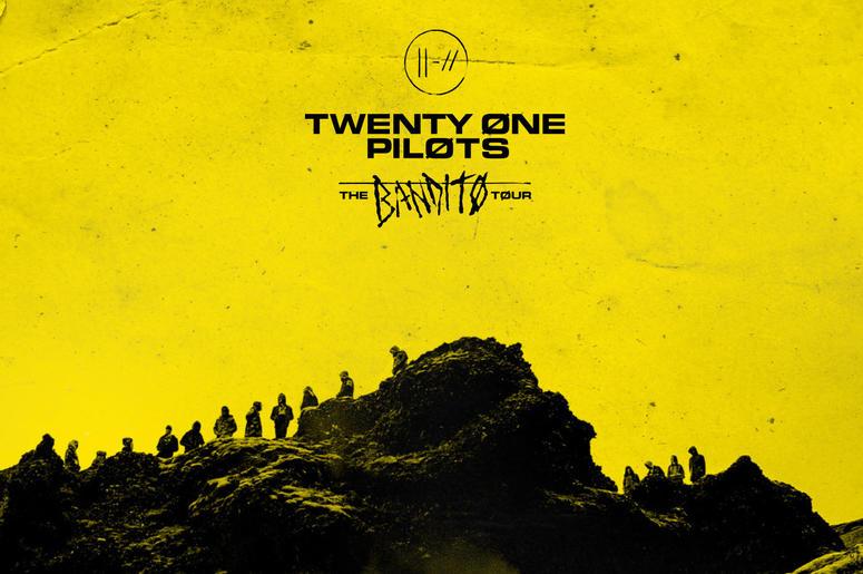 twenty one pilots The Bandito Tour