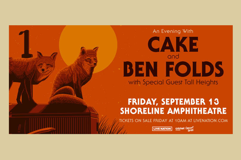 Cake and Ben Folds