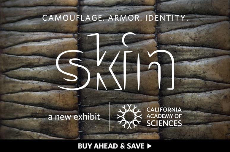 California Academy of Sciences 'Skins'