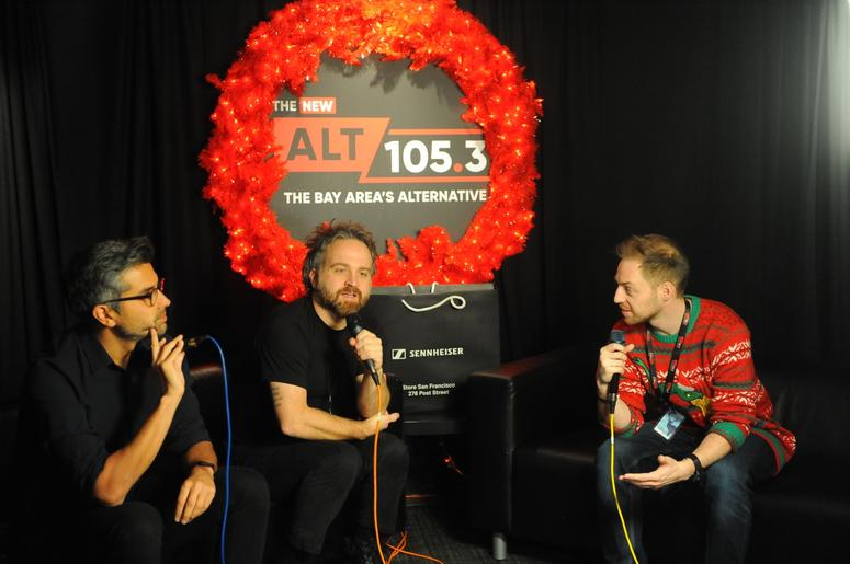 Death Cab For Cutie Backstage AT Not So Silent Night 2018