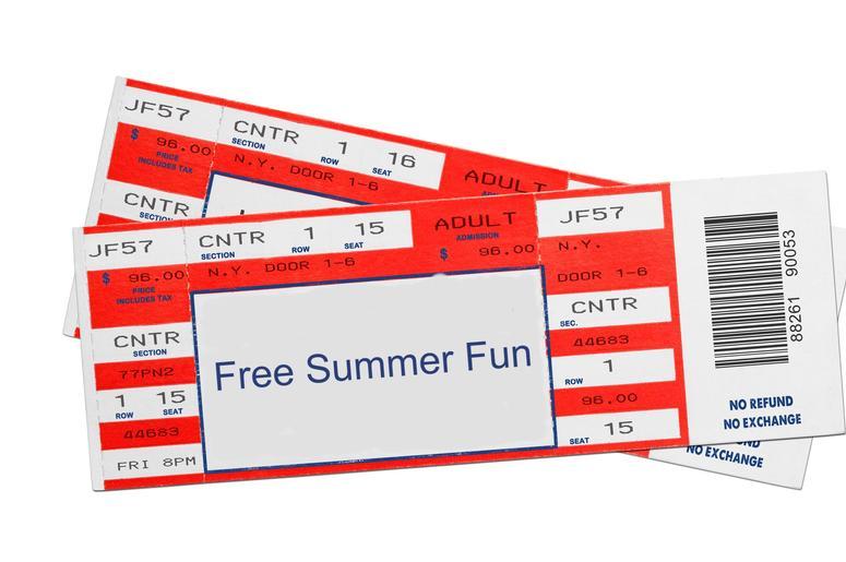 "ALT 1053's ""Free Summer Fun"""