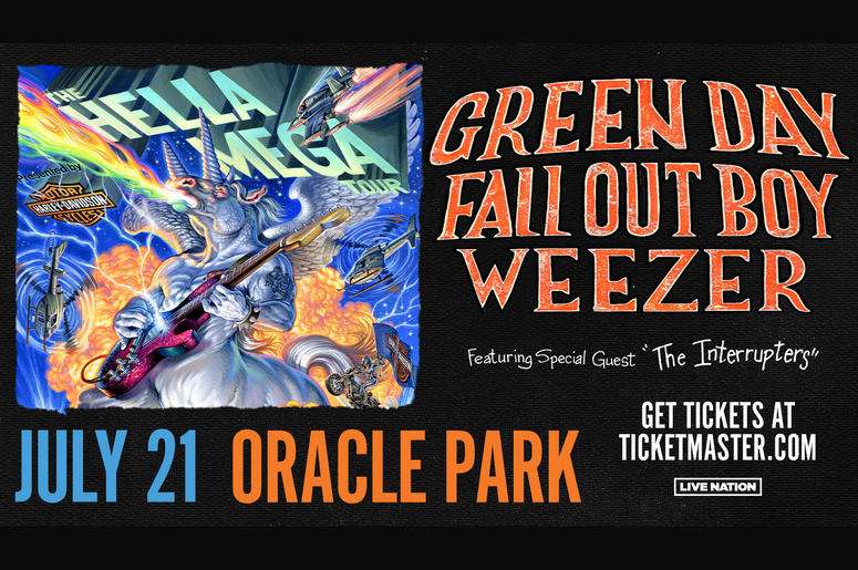 Hella Mega Tour ft. Green Day, Weezer + Fall Out Boy