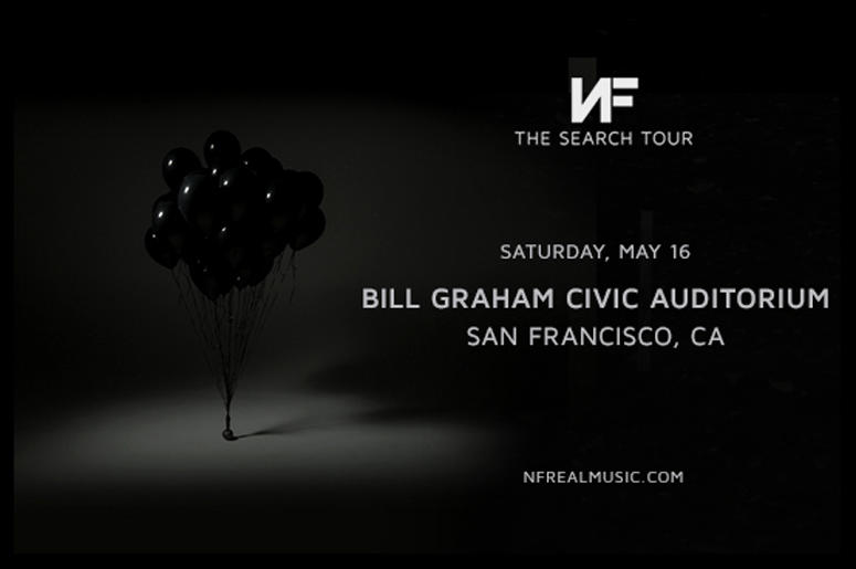 NF: 'The Search Tour' at Bill Graham Civic Auditorium - San Francisco