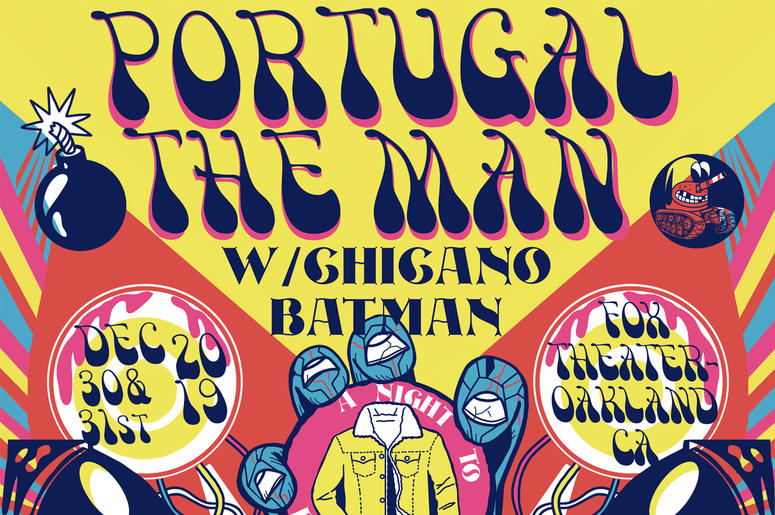 Portugal. The Man at The Fox Theater Oakland
