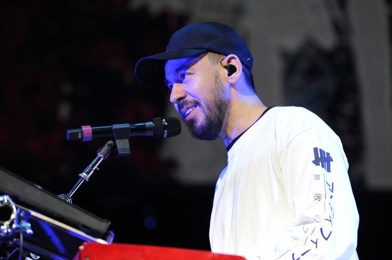 Mike Shinoda At Not So Silent Night 2018