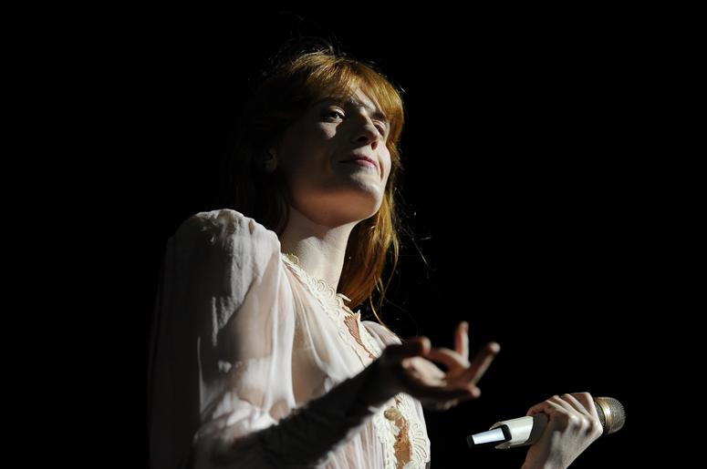 Florence + The Machine At Not So Silent Night 2018