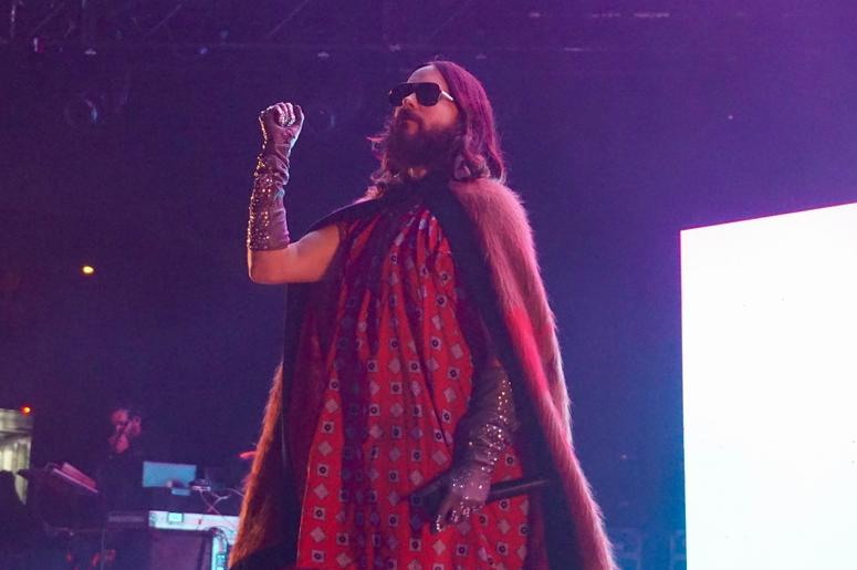 Thirty Seconds To Mars At Shoreline Amphitheatre