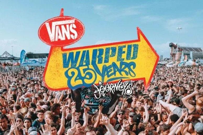 Vans Warped Tour 25th Anniversary