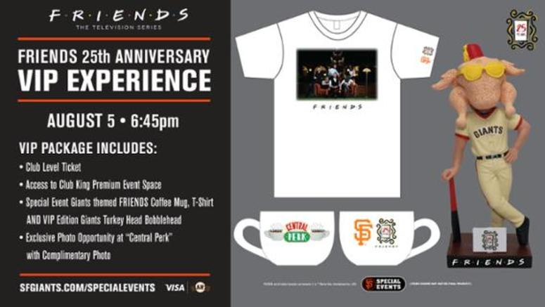 92287c60 San Francisco Giants Hosting A F•R•I•E•N•D•S Night In August   THE ...