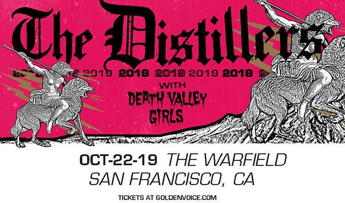 The Distillers at The Warfield