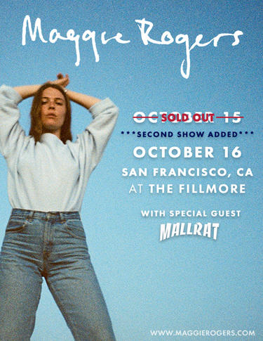 Maggie Rogers at The Fillmore