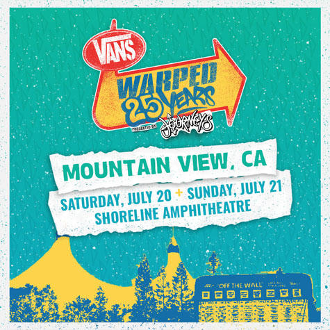 Win Tickets To The 25th Anniversary of Warped Tour at Shoreline