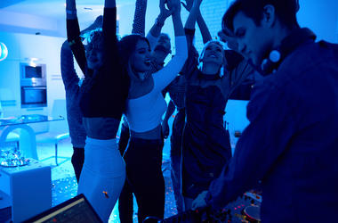 House Party, DJ, Dancing, Music, Party