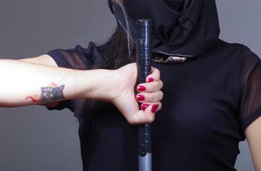 Samurai Sword Girl