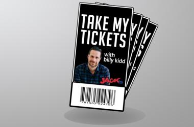 Take My Tickets With Billy Kidd!
