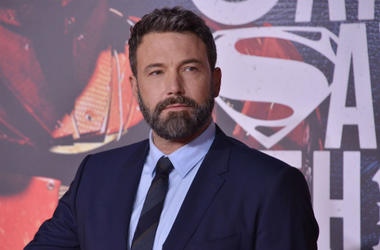 Ben Affleck at the premier of Justice League