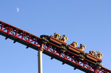 Roller Coaster, Amusement Park, Ride