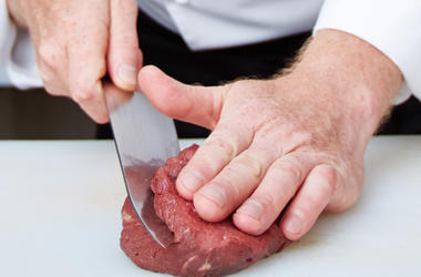 Butcher, Chef, Food, Cooking, Meat