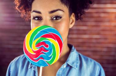 100.3 Jack FM,Firebox,Online,Shopping,Lollipop,Life-sized,Face,Custom,Funny,Gift,Candy