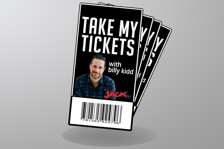 Take My Tickets With Billy Kidd!