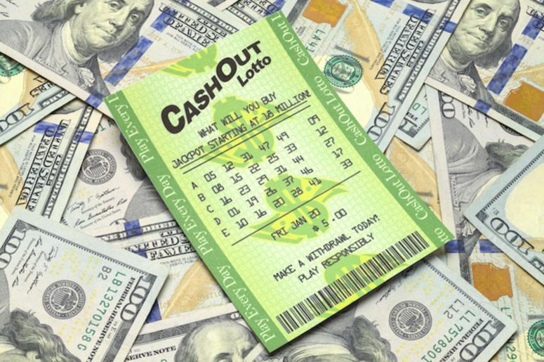 Lottery, Ticket, Winner, Cash, Money