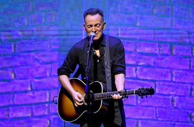 """Bruce Springsteen performs at Netflix FYSEE Opening Night """"Springsteen On Broadway"""""""